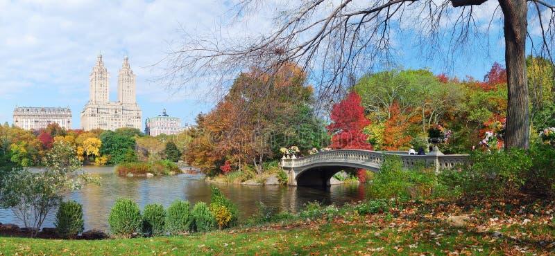 park york för central stad för höst ny arkivbilder