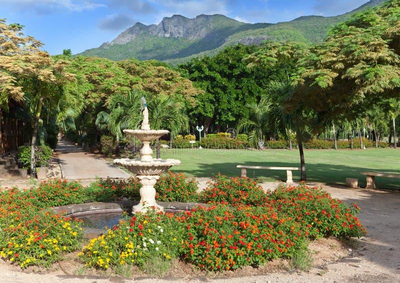 Download Park Zone Le Domaine Les Pailles. Mauritius Stock Photography - Image: 25094702