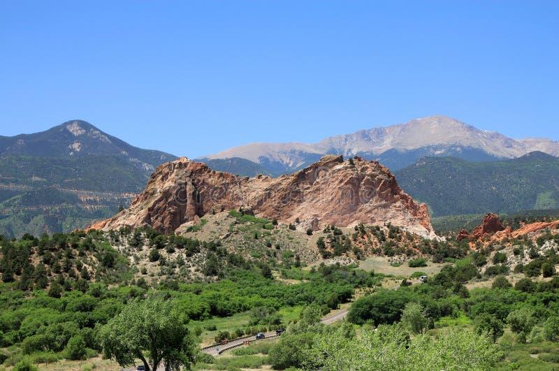 Parka Narodowego ogród bóg zdjęcia stock