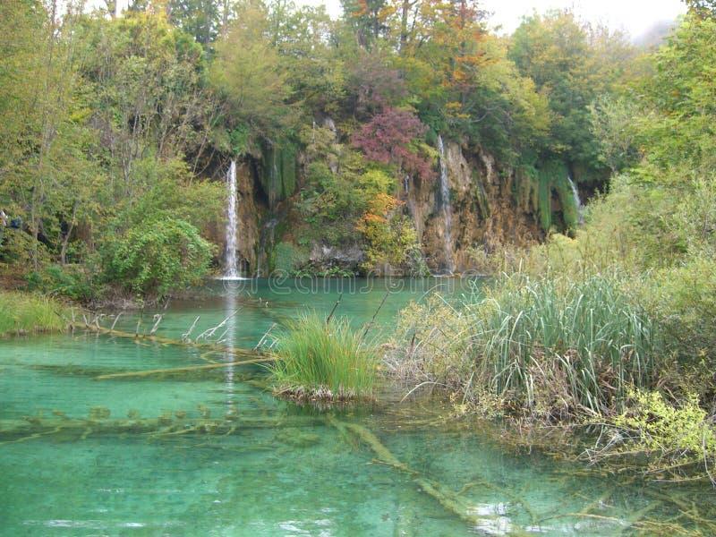 Parka Narodowego Plitvice jeziora, Chorwacja fotografia royalty free