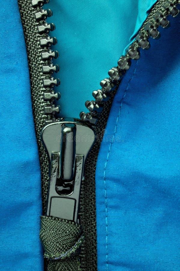 Parka zipper stock photos