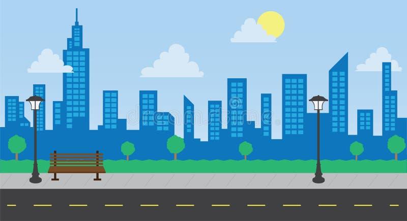 Parkbyggnads- och gatadagsljus
