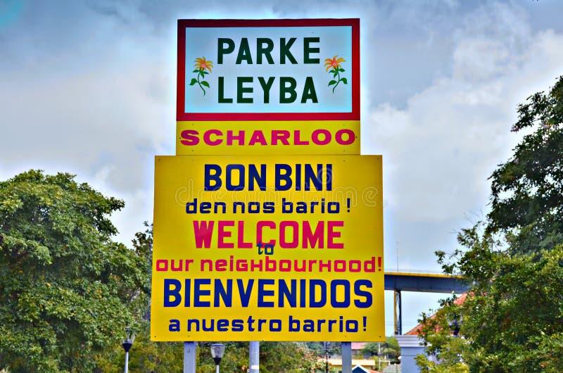 Parke Leyba Curacao stock afbeelding