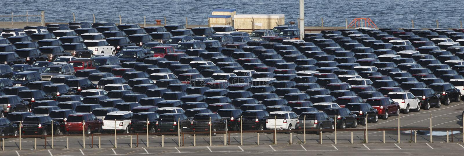 Download Parked Cars stock photo. Image of import, lines, cars - 16633022