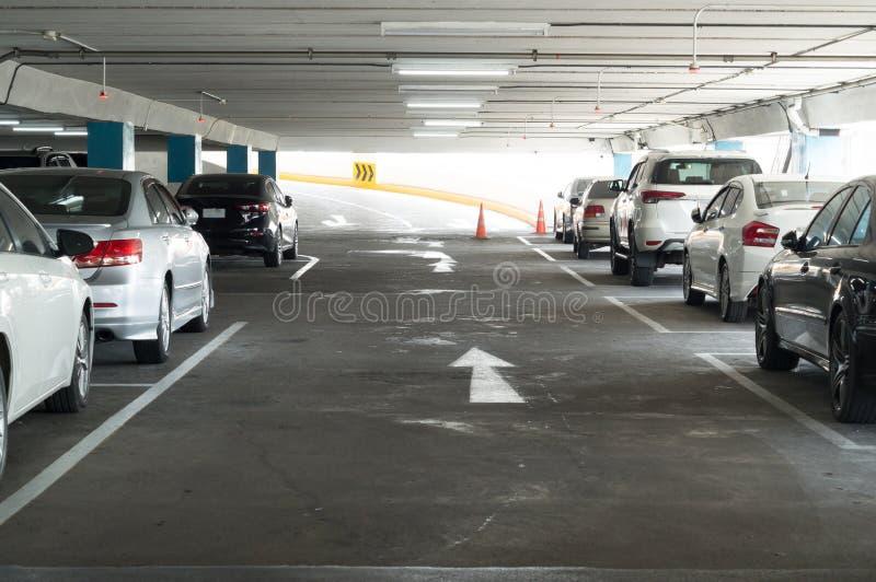 Parkeerterreinen royalty-vrije stock foto