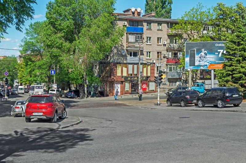Parken auf Bürgersteig stockfotografie
