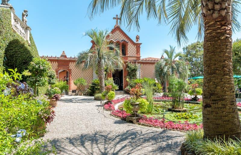 Parken Sie Garten von Insel Madre - Isola Madre, Italien stockbilder