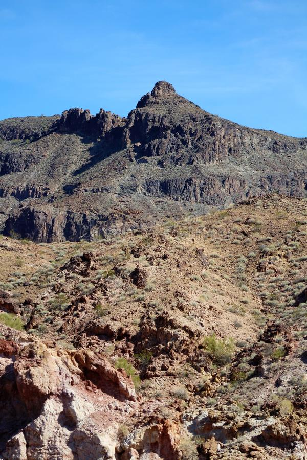 Parker, Аризона, La Paz County, Соединенные Штаты стоковые изображения