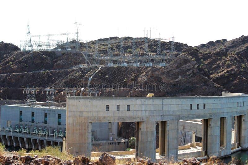 Parker Dam, Parker, o Arizona, La Paz County, Estados Unidos imagem de stock