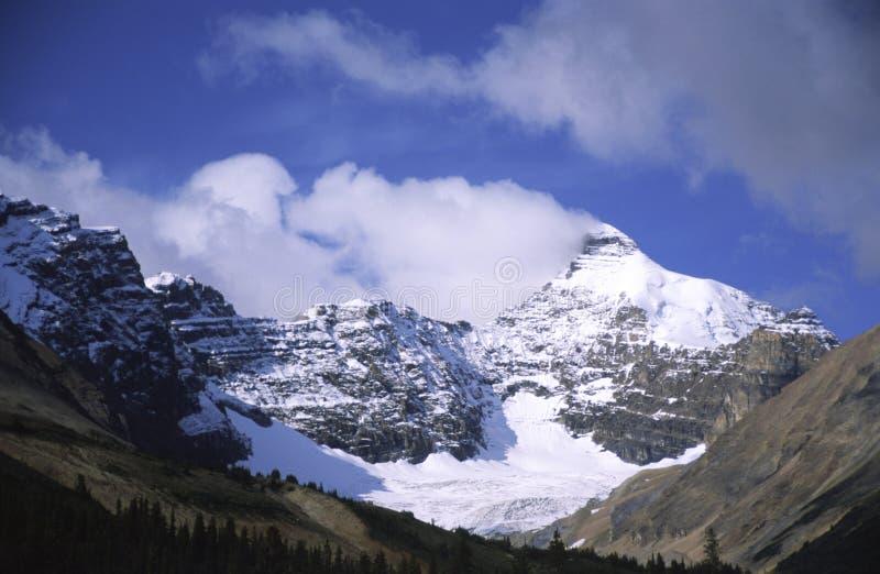 Parker Ridge in Montagne Rocciose canadesi fotografia stock