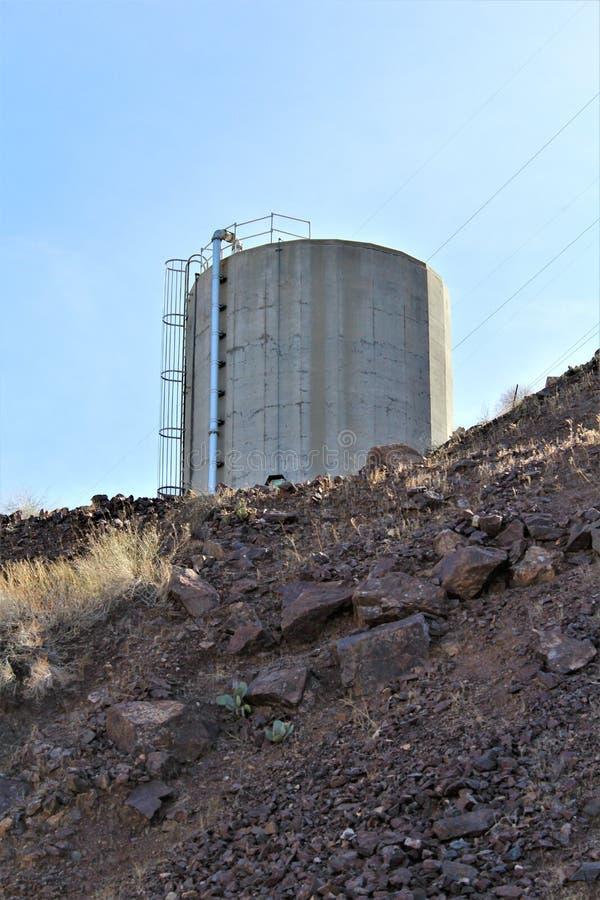 Parker tama, Parker, Arizona, losu angeles Paz okręg administracyjny, Stany Zjednoczone fotografia royalty free