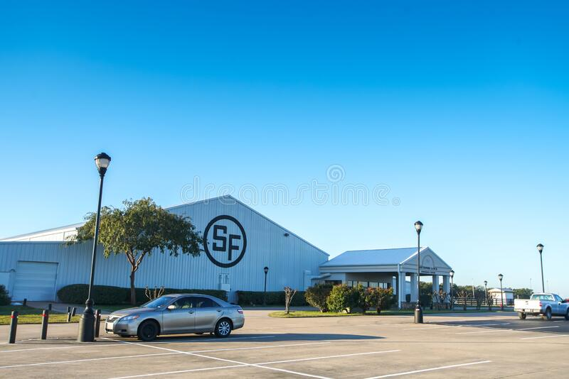 Southfork Ranch conference center building royalty free stock images