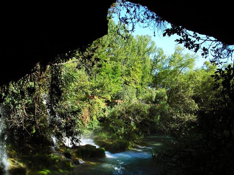 Parkera Duden, Antalya royaltyfri foto