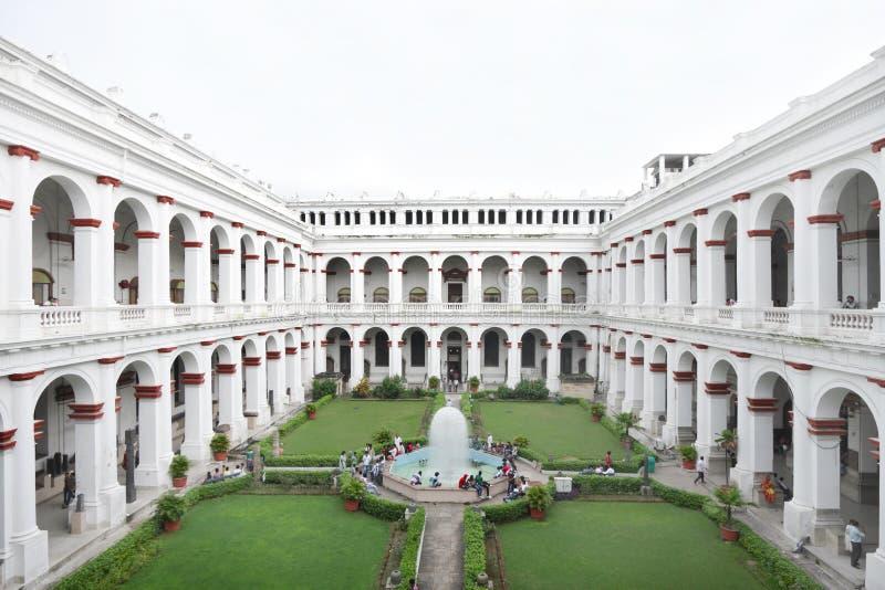 Indiskt museum av Kolkata, Indien arkivfoto