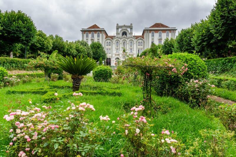 Parkera i Curia; Tamengos; Anadia; Portugal arkivbilder