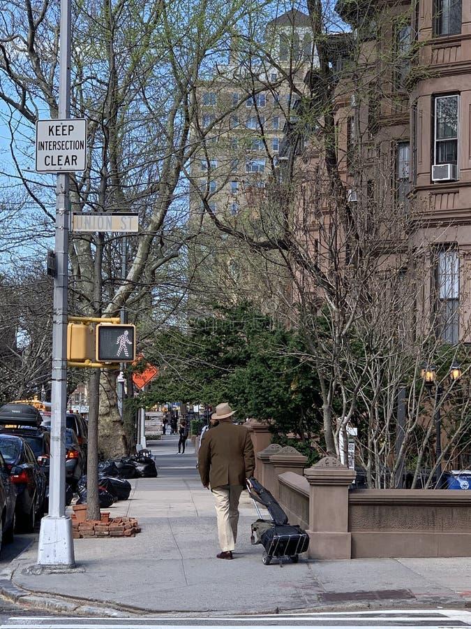 Parkera lutningen, Brooklyn, New York City, USA fotografering för bildbyråer