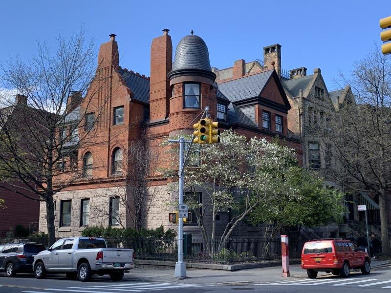 Parkera lutningen, Brooklyn, New York City, USA arkivbild