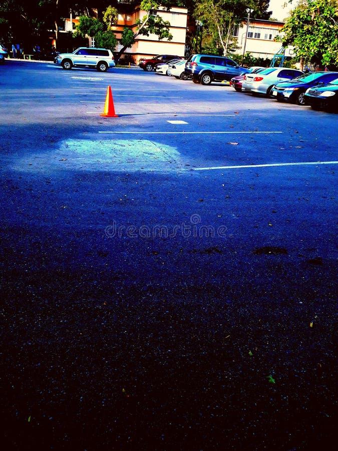 parkeren stock fotografie