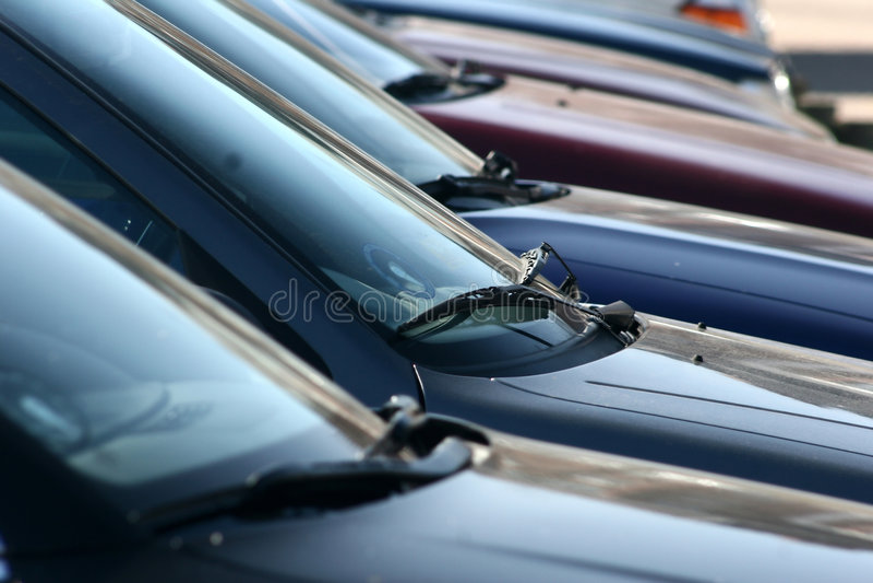 parkering royaltyfri fotografi
