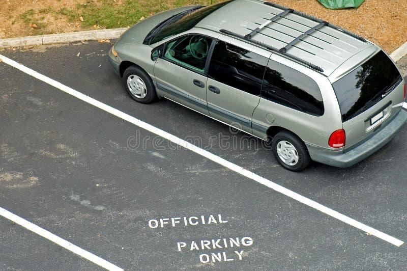 parkeringsbegränsningar arkivbilder