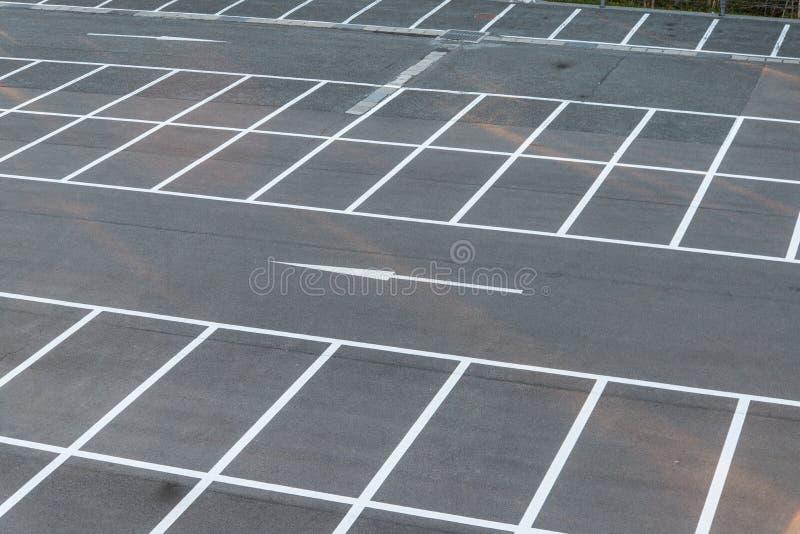 Parkeringsplats arkivbild