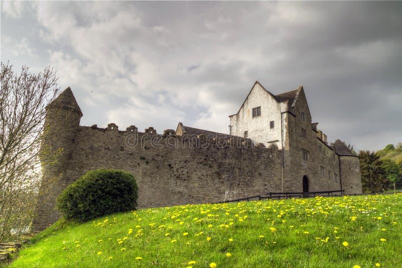 Parkes Castle in Ireland stock photos