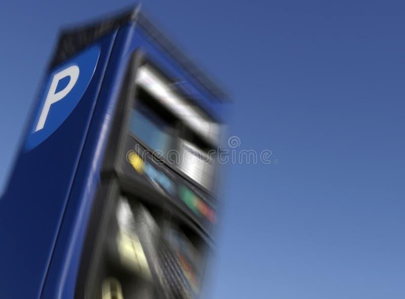 Parkgebühren stockfoto