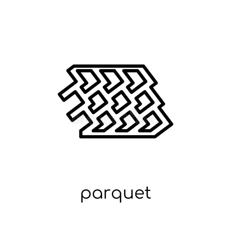Parkietowa ikona  ilustracja wektor
