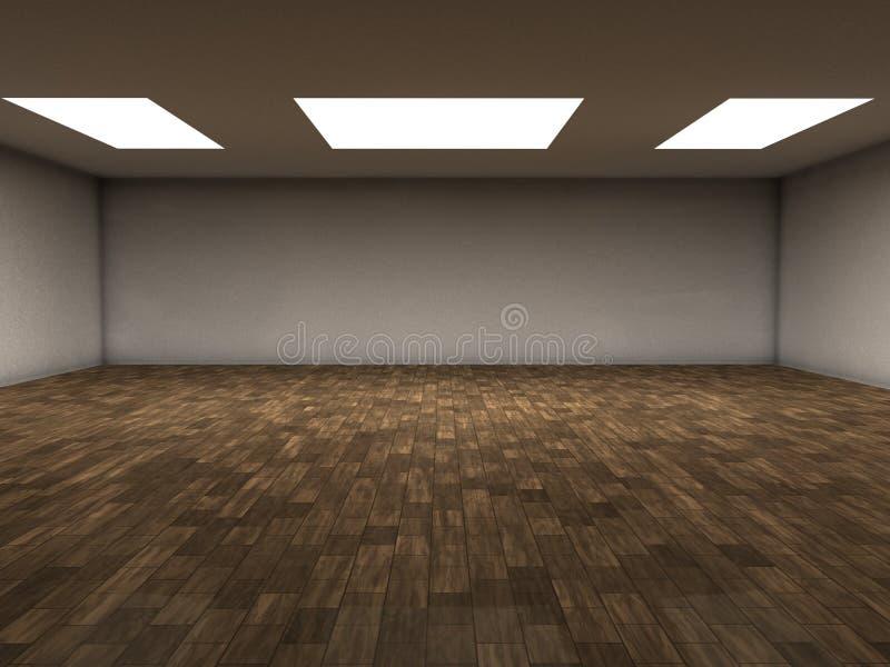 parkietowy pokój royalty ilustracja