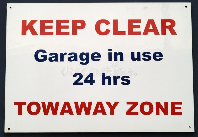 parking żadny znak zdjęcie royalty free