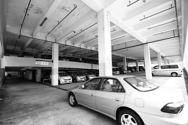 Parking image libre de droits