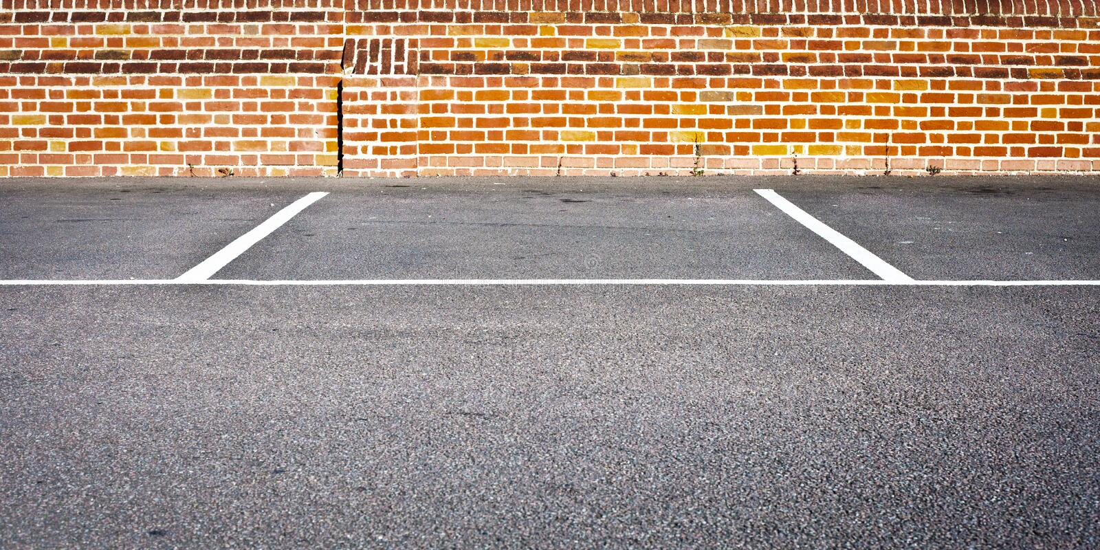 Parking photographie stock