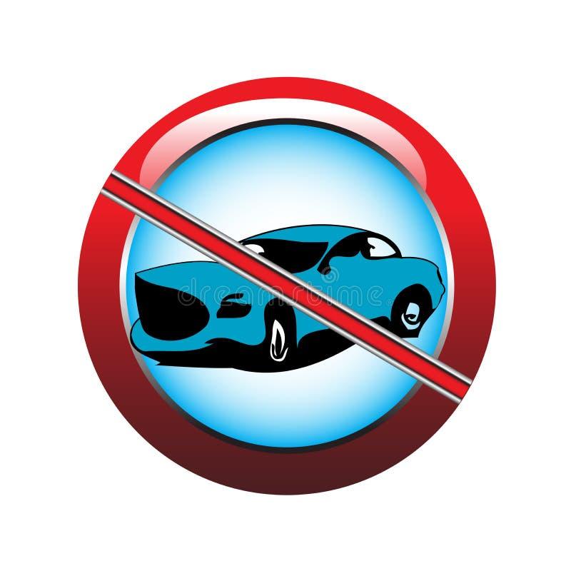 Download Parking is forbidden stock vector. Image of traffic, forbidden - 8179140