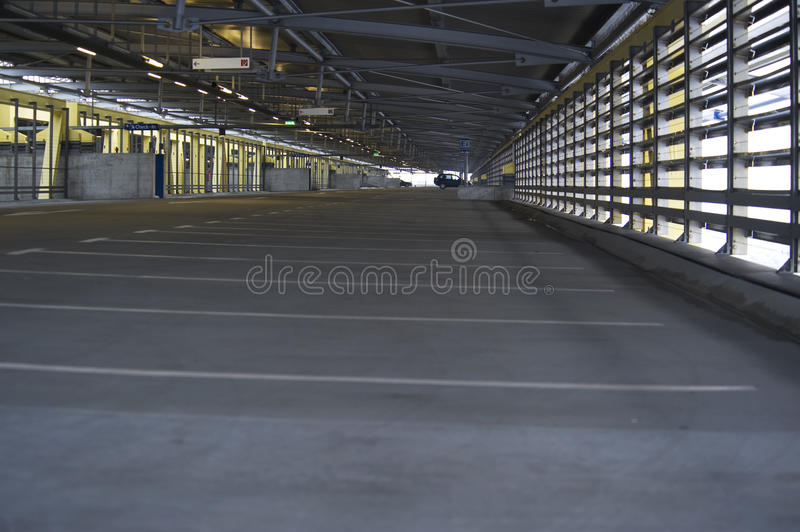 Download Parking garage stock photo. Image of architectural, modern - 12887912