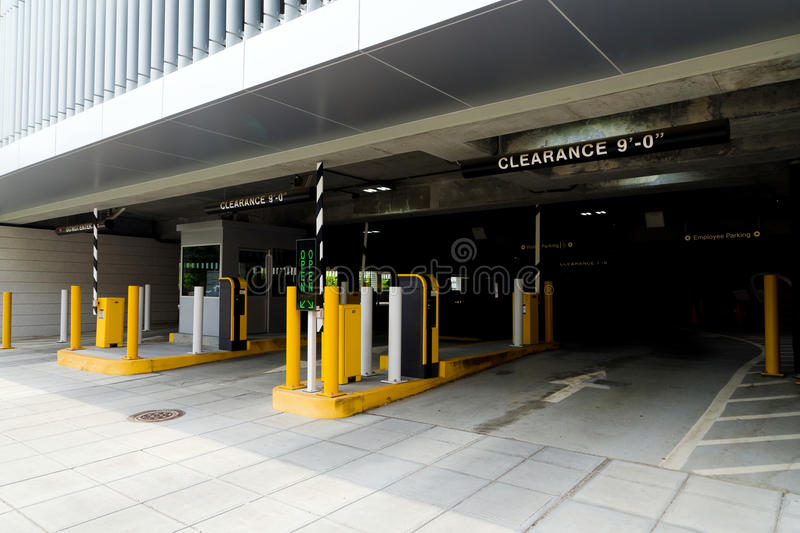 Download Parking garage stock photo. Image of front, large, fluorescent - 25651350