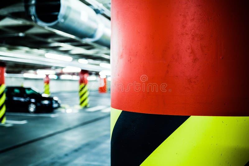 Download Parking Garage In Basement, Underground Interior Stock Photo - Image: 27380748
