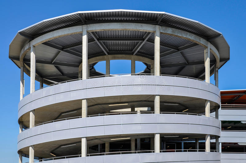 Download Parking garage exit ramp stock image. Image of architecture - 32935315