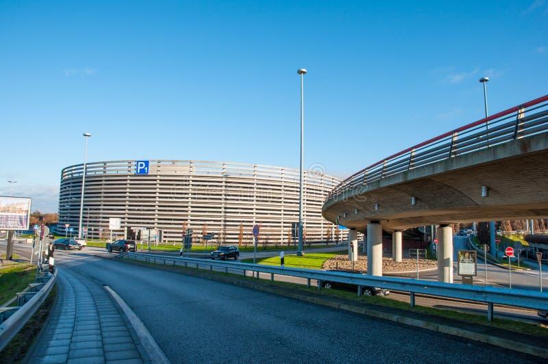 Parking Garage At Hamburg Airport Editorial Photo - Image of hamburg ...