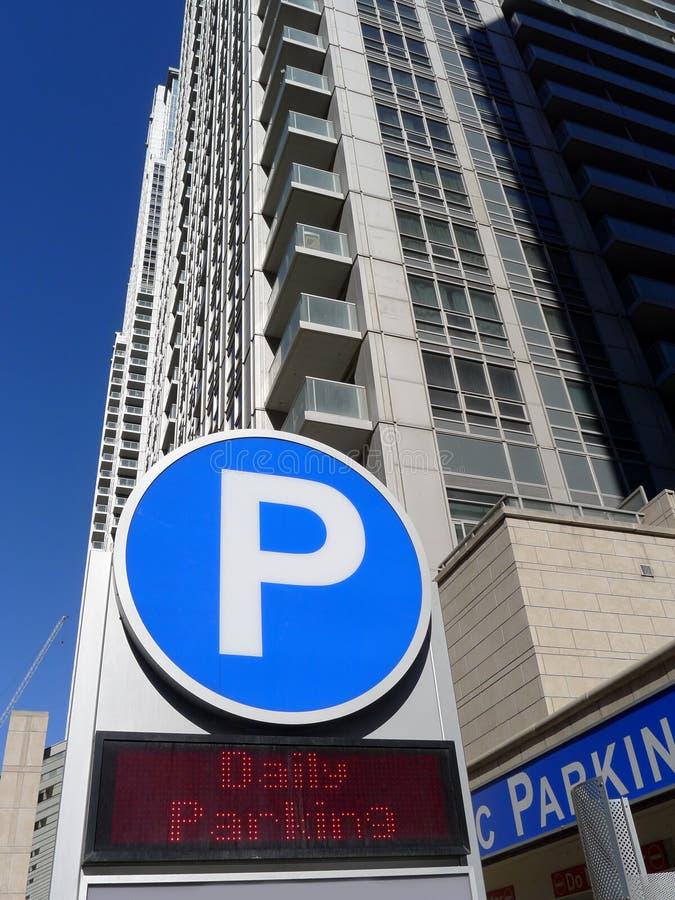 Parking Garage Sign Royalty Free Stock Photos