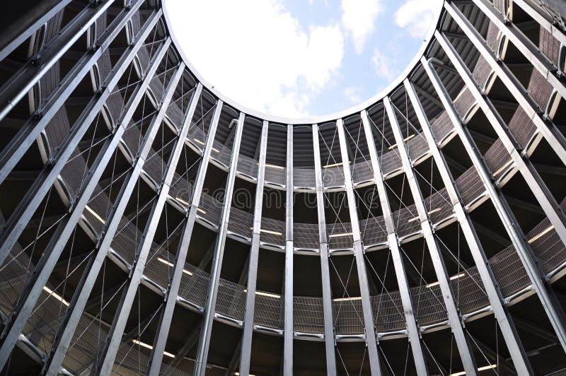 Parking Garage Spiral Royalty Free Stock Photos