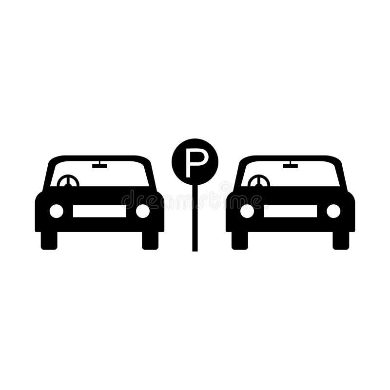Parking graphic design , vector illustration - Vector royalty free illustration