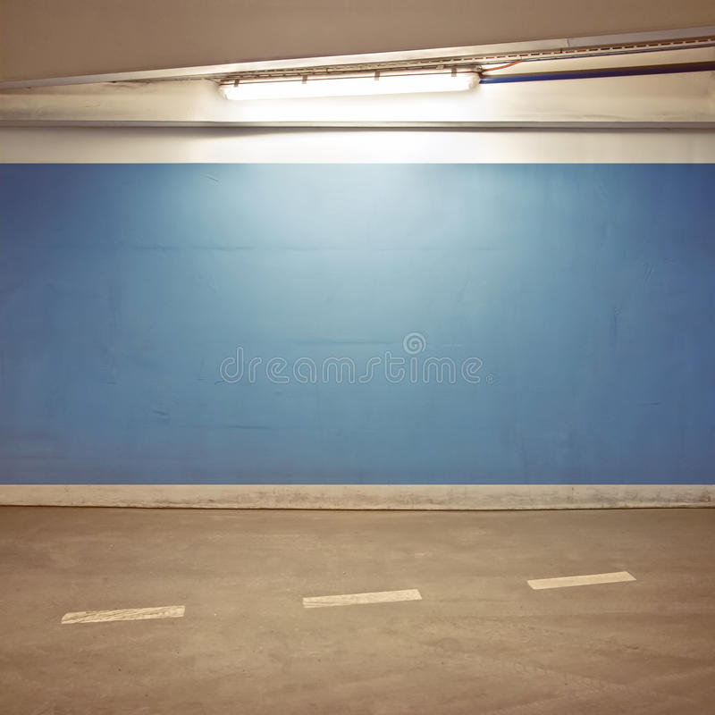 Parking lot. Empty parking lot area, can be used as urban background stock images