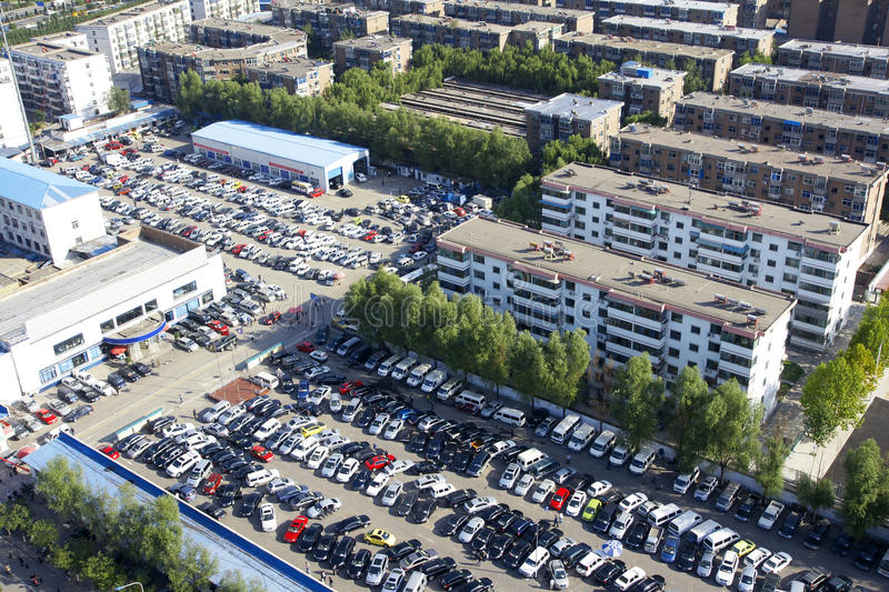 Download Parking lot stock photo. Image of vehicles, cars, park - 21244434