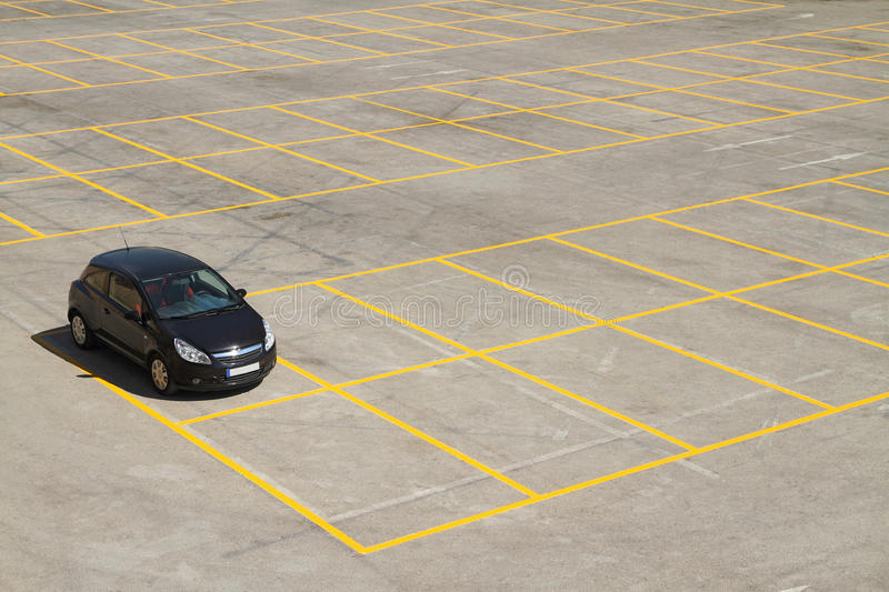 Download Parking lot stock image. Image of open, space, lines - 21355969