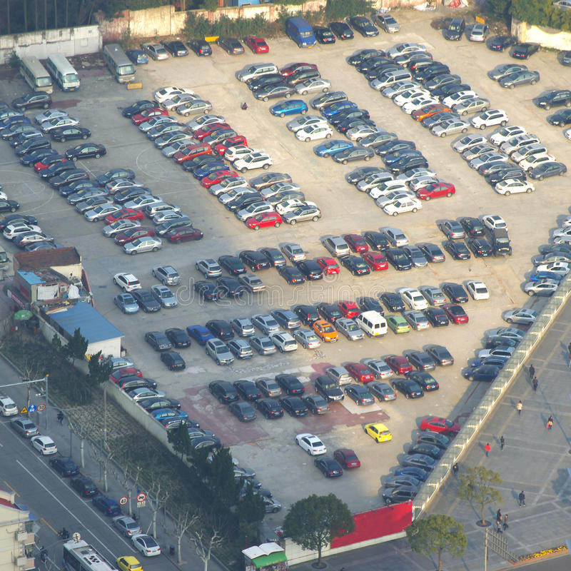 Download Parking lot stock photo. Image of give, levels, large - 24690804
