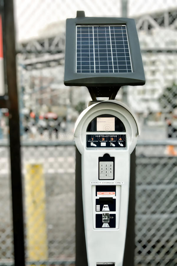 Download Parking machine stock image. Image of fine, parking, automate - 23569861