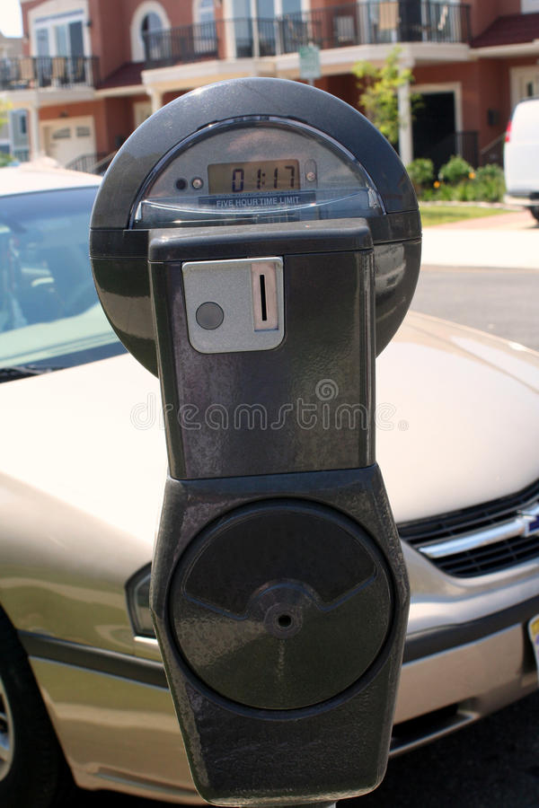Download Parking Meter By Car stock image. Image of curb, pole - 22871545