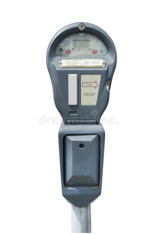 Parking Meter, Isolated Stock Images