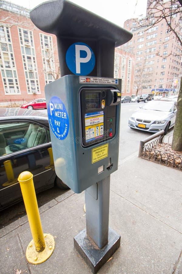 Parking meter royalty free stock photos