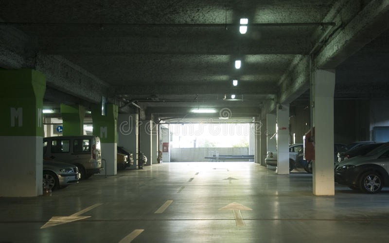 parking metro obraz stock